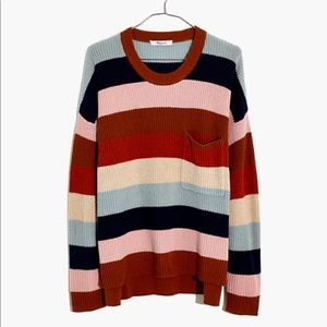 MADEWELL thompson pocket pullover sweater XS